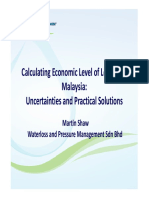 1540-1600 Calculating Economic Level of Leakage in Malaysia- Uncertainties and Practical Solutions- Martin Shaw