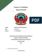 Laporan Praktikum Komunikasi Data Hyperterminal