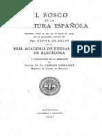 El Bosco en la literatura española