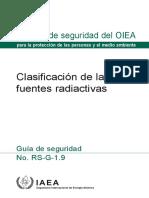 CLASIFICACION DE LAS FUENTES RADIACTIVAS - OIEA.pdf