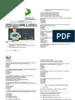 Evaluacion de Los Grados 3.4 y5 Concurso