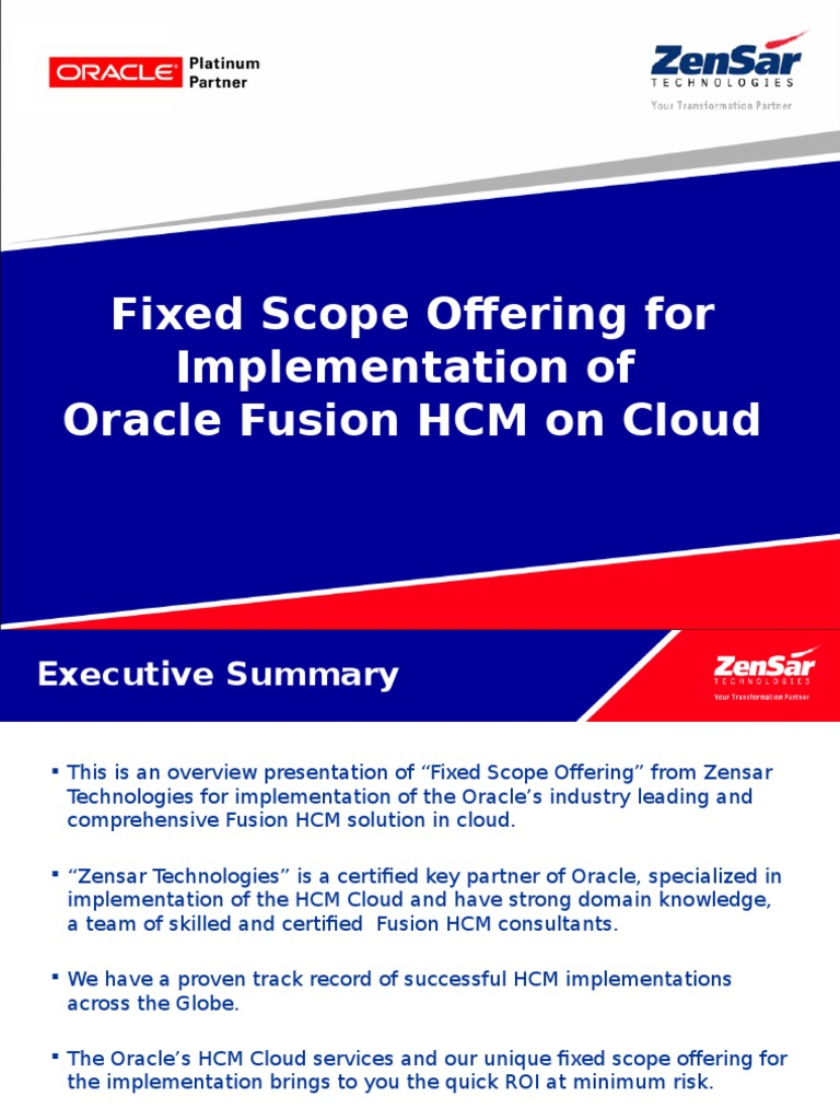 Oracle Fusion HCM FSO pptx   Cloud Computing   Business Process