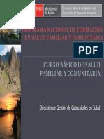 Programa Nacional de Formación en Salud Familiar y Comunitaria