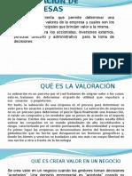 SEMANA III  VALUACIÓN  Y  PORCESO DE EMPRESA.pptx