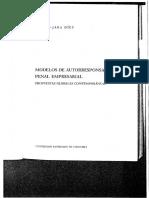 Modelos de Autorresponsabilidad Penal Empresarial - Carlos Gómez - Jara Díez (1177100xB8F17)-1
