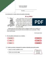 Guía de Sinónimos