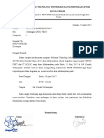 Surat Undangan Hmif Unikom