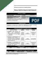 Memorandum de Planificacion UNSSAC