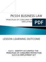 Chapter 7 Business Law Principles of Consumer Protection