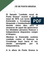 Combate de Punta Gruesa