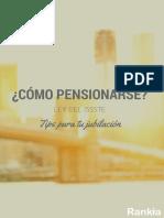Manual Como Pensionarse Ley Issste