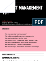 Product Management 101 Deck_CG