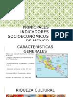 Prinicpales Indicadores Socioeconómicos de México
