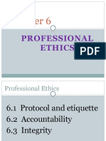 Soft Skills Chapter 6 Professional Ethics