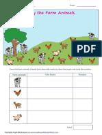Counting Theme Farm Animals (1)