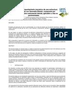 Evaluación Del Comportamiento Mecánico de Una Estructura Bicapa Reforzada Con Geomalla Biaxial