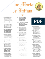 Cslkw-Ave Maria de Fatima