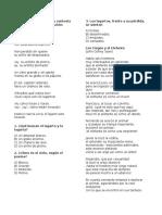 poemas 4 basico
