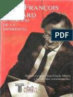 Jean-François Lyotard - EL EJERCICIO DE LA DIFERENCIA.pdf
