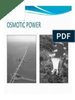 Falt Osmotic Power