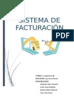 SISTEMA DE FACTURACION DE VENTAS