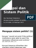Korupsi Dan Sistem Politik 2017