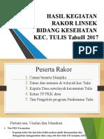 HASIL KEGIATAN LINSEK MARET 2017.pptx