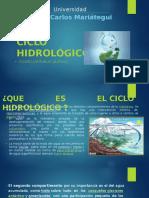 ciclo HIDROLOGICO DIAPOSITIVA