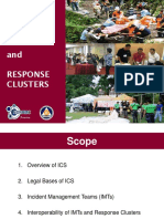 Ics and Response Clusters