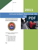 Liderazgo Organizacional -InTERNET