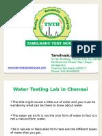Soil Testing Labs in Chennai