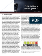 gaming article layout