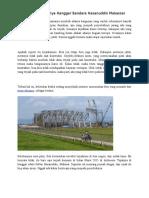 Analisa Runtuhnya Hanggar Bandara Hasanuddin Makassar