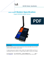 Xiamen Alotcer - AM1000 Modem Specification
