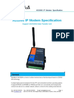 Xiamen Alotcer-AD2066 IP Modem Specification