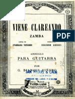Aredes Yupanqui Bianqui Pinero Viene Clareando