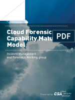 Cloud Forensics Capability Model