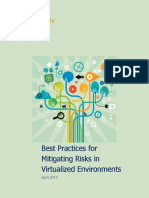Best Practices for Mitigating Risks Virtual Environments