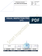 Visual Inspection Procedure