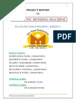 Pneumetic Bending Machine