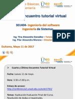 Ultimo Encuentro Tutorial Virtual