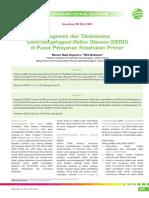 09_252CME-Diagnosis Dan Tatalaksana GERD Di Pusat Pelayanan Kesehatan Primer