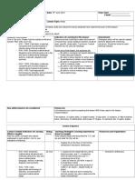 lesson plan format- mass