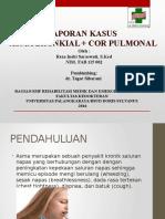 Lapsus Asma + Cor Pulmonal
