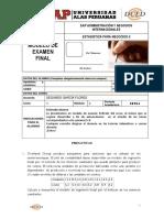 Modelo de Examen Final de Estadistica Neg II 2015-i