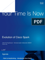 EVOLUTION OF CISCO SPARK