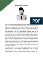 Biography Jendral Sudirman