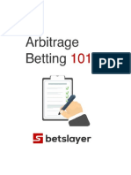 Welcome to Betslayer (arbitrage betting)