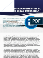 Ib Business Management Hl Sl Help