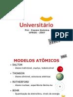 Química - Pré-Vestibular Universitário - UFRGS 2007